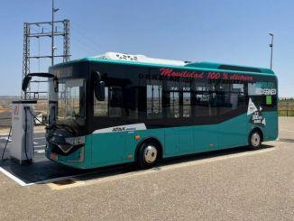 Karsan Atak Electric היה האוטובוס החשמלי הראשון שנבדק בין ברצלונה ומדריד.