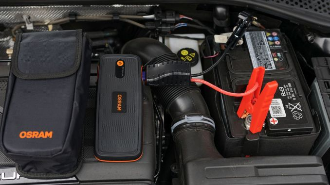 With osram battery start, your vehicle's energy will never run out.