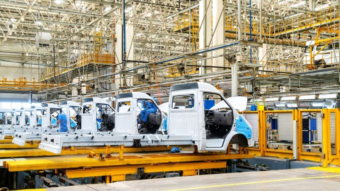 technology that provides high-level safety and efficiency in automotive production facilities