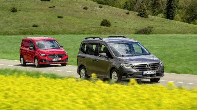 nya Mercedes Benz Citan och Ecitan introducerade