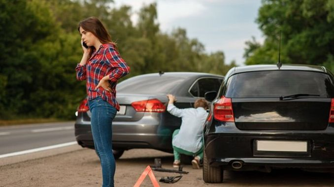 What to do in vehicle accidents with material damage