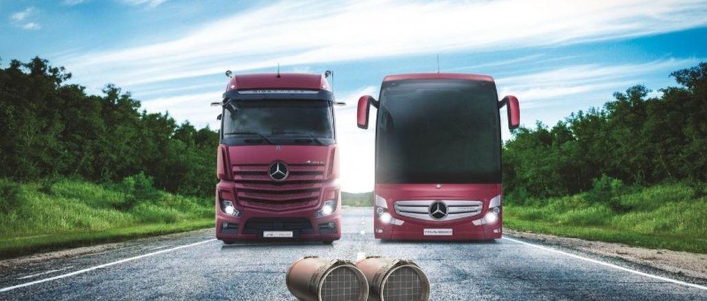 mercedes benz turk skreće pažnju na važnost filtera za čestice dizela