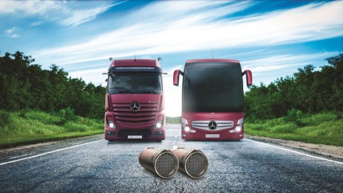 mercedes benz turk draws attention to the importance of diesel particulate filter