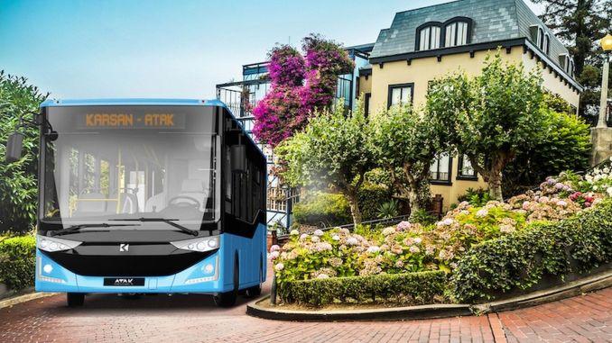 Karsan 的仪表柴油攻击巴士将简化梅尔辛的运输