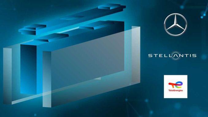 mercedes benz stellantis e totalenergiesem empresa de baterias parceira com empresa de células automotivas