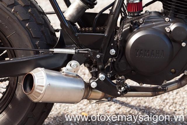 Yamaha TW125 độ bobber cực chất để tặng bạn gái - Ảnh 5.
