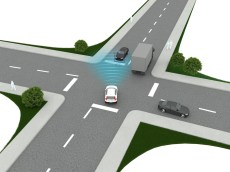 New Volvo XC40 – City Safety Intersection