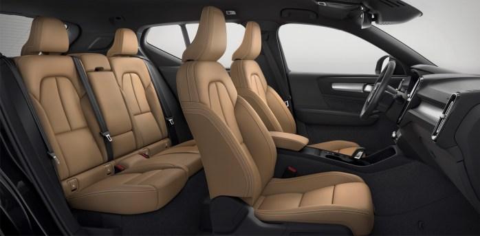New Volvo XC40 – interior