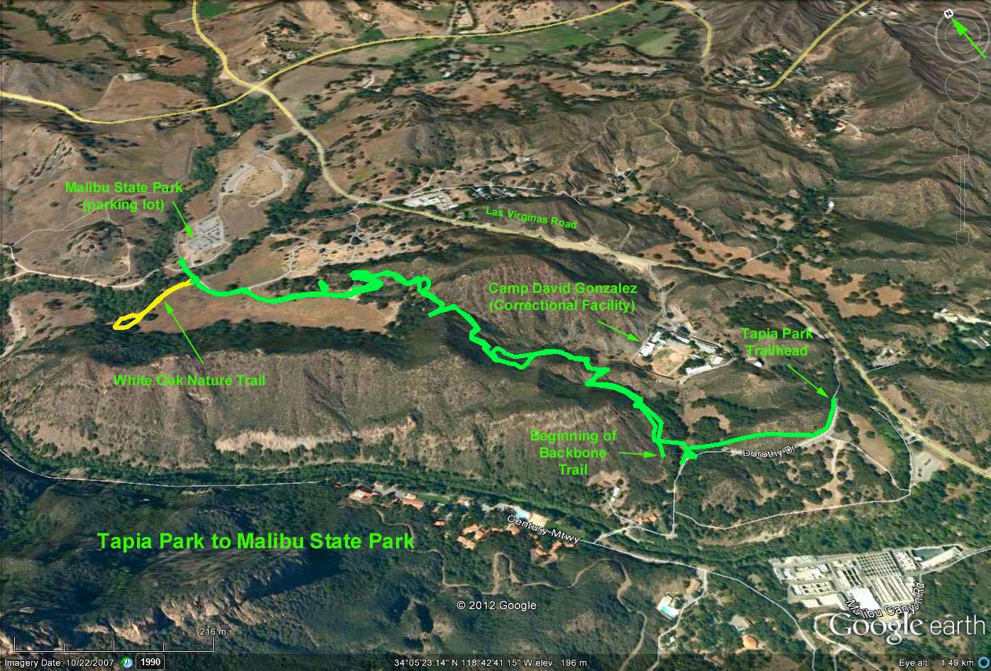 OTP Hiker  Santa Monica Mts