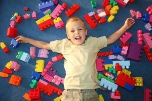Sensory Processing - child legos