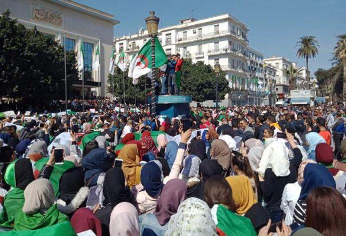 Situação explosiva na Argélia