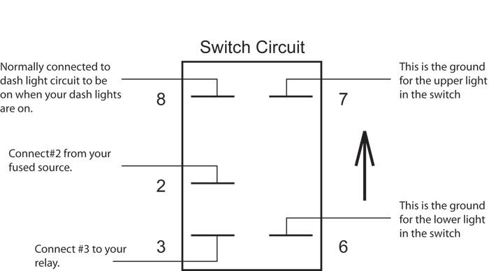 OTRATTW Rocker Switch