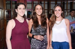 Clarita fantini, Agustina fantini y Josefina honig2
