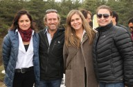 Magdalena De Castro, Carlos Jorge Videla, Verónica Ulloa y Romina Cannoni