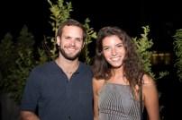 Diego Echenique y Javiera Beltran