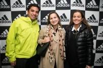 Javier Zavalaga, Paula Olmedo y Catalina Garces