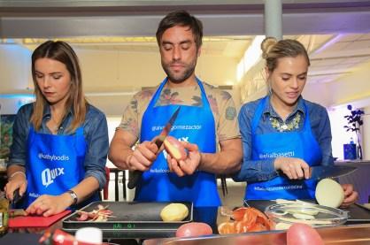 Kathy Bodis, Alvaro Gomez, Eliana Albasetti