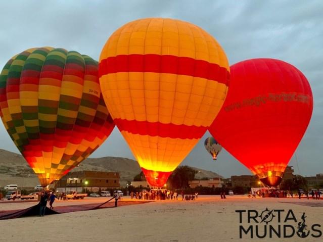 Passeio de balão em Luxor - Egito