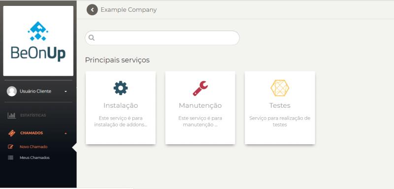 Catalogo de serviços