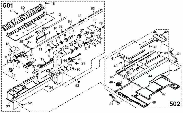Блок подачи бумаги MB OC 316/ 318/ 420 /Sharp AR-5316/5320