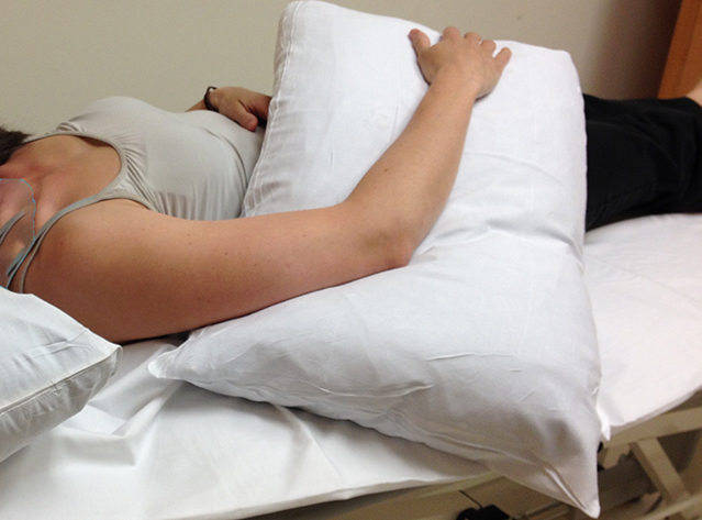 sleep positioning and nerve compression