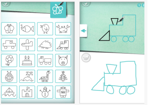 drawing step draw apps shapes drawings basic simple children learn preschool learning technology young app worksheets learners copy artists emailed