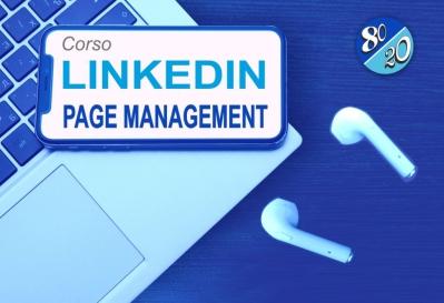 I M M I N E N T E Corso Linkedin Page Management