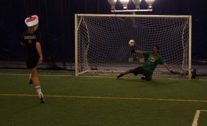 Penalty Goal Louis Riel Dome