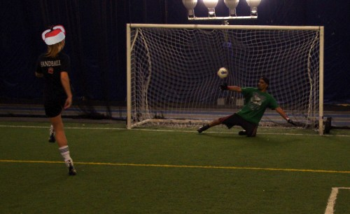 Penalty Goal Louis Riel Dome