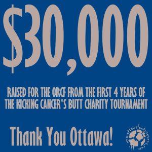 $30,000 raised for Ottawa Regional Cancer Foundation