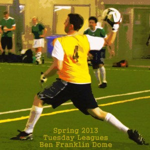 Ottawa Footy Sevens Tuesday league action