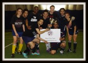 The Champions with the cup