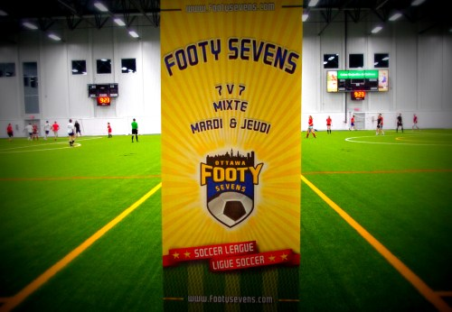 Ottawa Footy Sevens at Complexe Branchaud-Briere