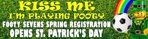 Ottawa Footy Sevens registration opens St Patrick's Day