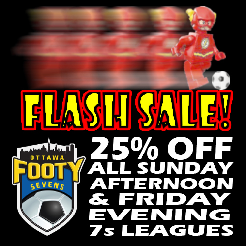 Flash Sale Square Footy March 14th