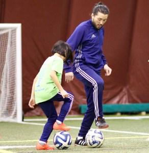 Futuro Soccer Academy Soccer Coaching with L'il Sambas kids soccer.