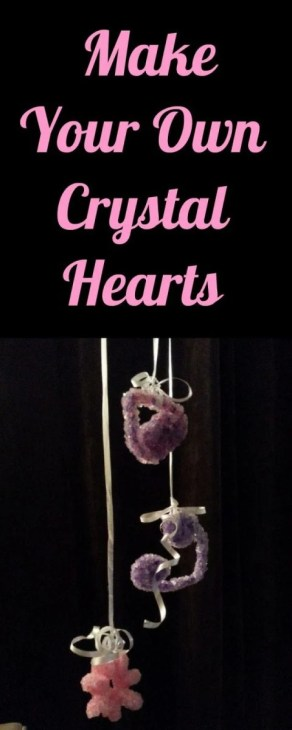 Make Your Own Crystal Hearts