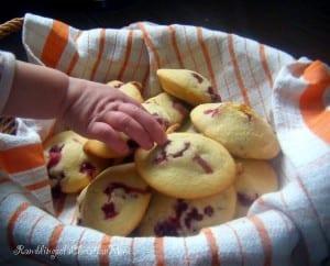 Cornmeal Berry Muffins