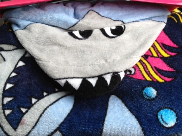 Shark towel