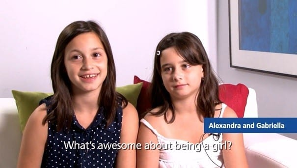 Whats Awesome About Being A girl Screen Shot 2 (Small)