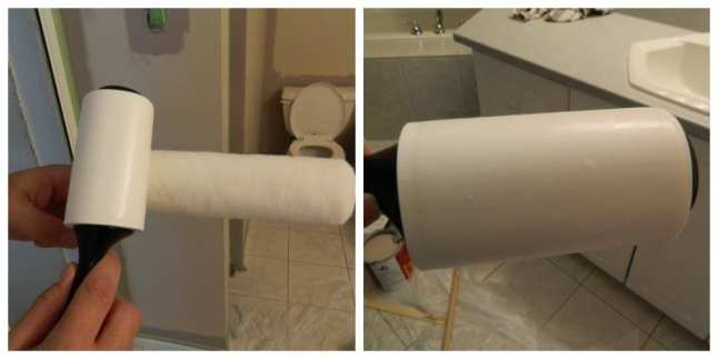 lint remover on roller