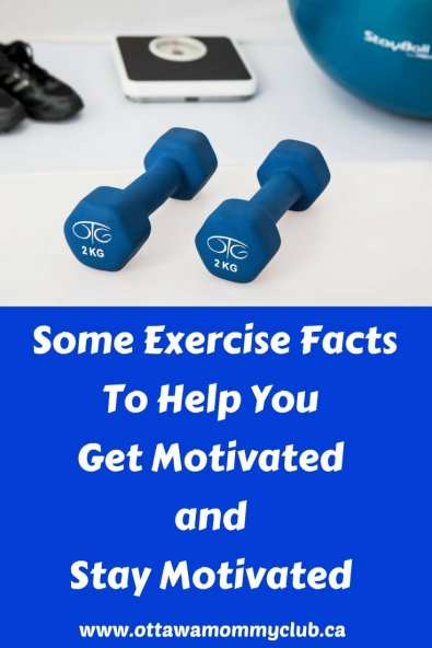 Some Exercise Facts To Help You Get Motivated and Stay Motivated