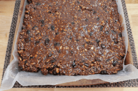 Homemade Healthy Granola Bars recipe