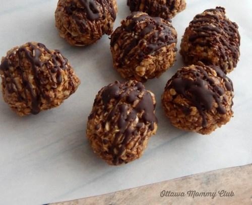 Peanut Butter Nutella Balls