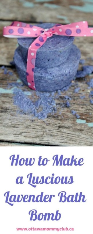 How to Make a Luscious Lavender Bath Bomb