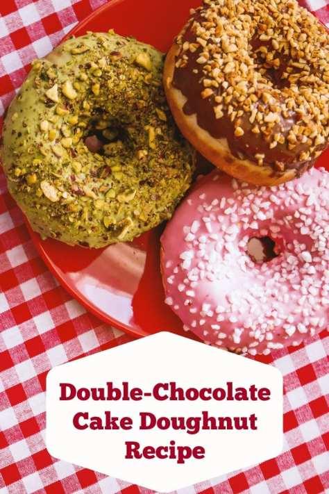 Double-Chocolate Cake Doughnut Recipe