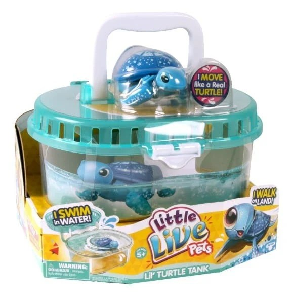 Make A Splash With The Little Live Pets Lil Turtle