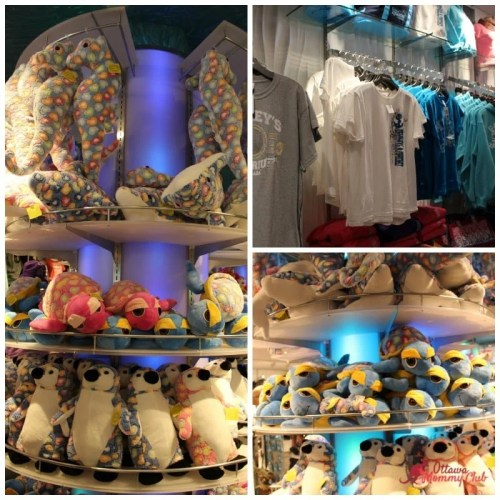Ripley's Aquarium Gift shop