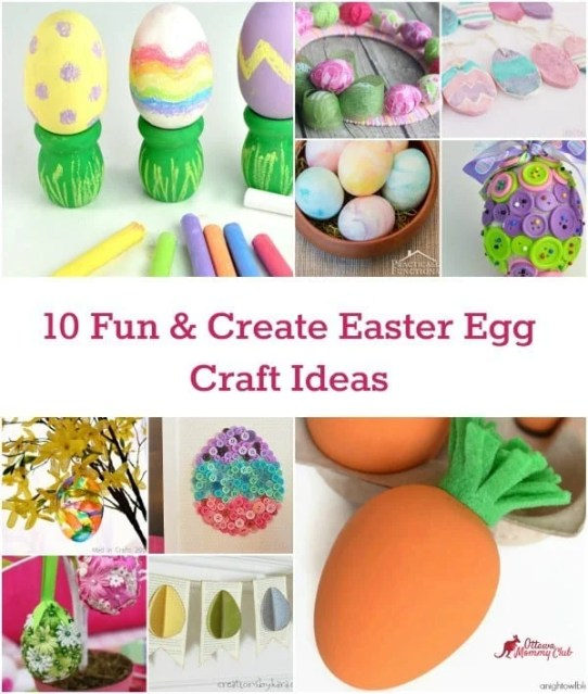 10 Fun & Create Easter Egg Craft Ideas 3