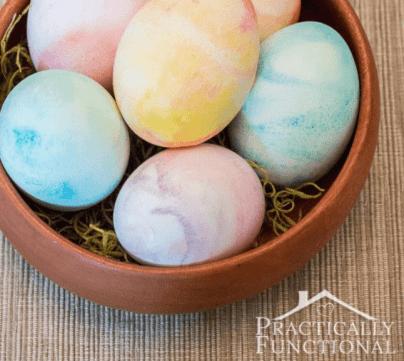 How To Make Shaving Cream Easter Eggs